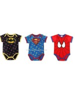 Boy's Rompers (Batman/ Superman/ Spiderman)